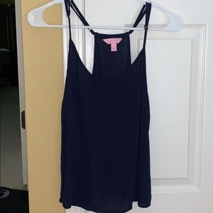 Navy blue Lilly Pulitzer tank top